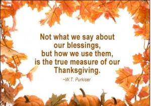 Thanksgiving WoW